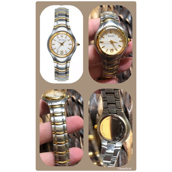 Bulova Accessories - Bulova two-tone stainless steel ladies watch